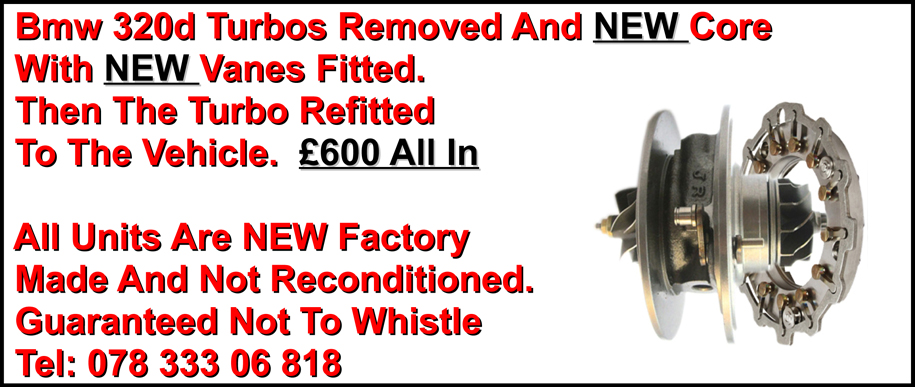 Bmw Reconditioned Turbo
