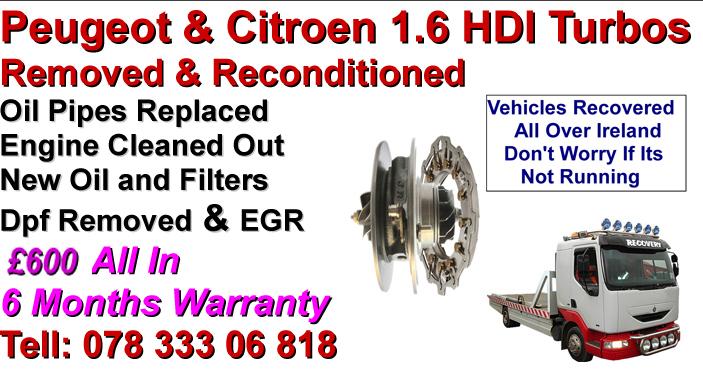 Peugeot 407 Turbo Repairs